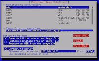 Crear una imagen de particiones de un disco completo con  SystemRescueCD