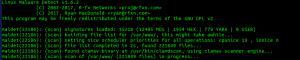 maldet , detectar malware en linux