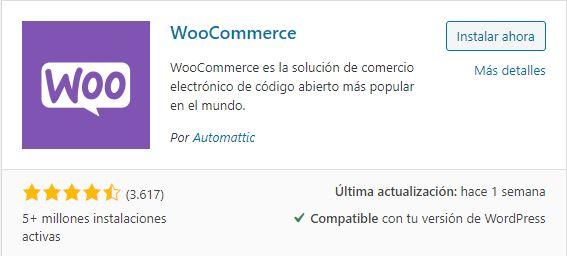 Woocommerce convertir wordpress en tienda virtual